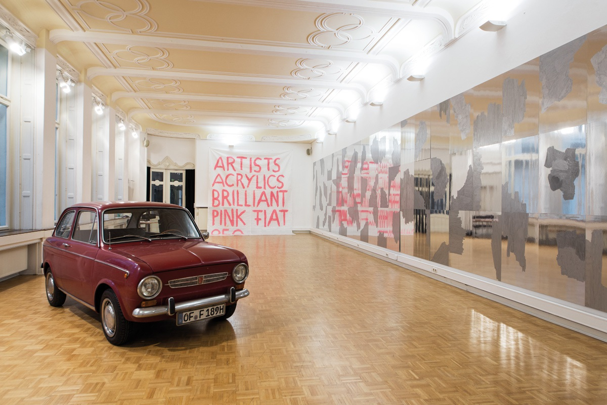 AUTOPAINT, Raymund Kaiser − Andreas Exner, Kunstverein Bellevue-Saal Wiesbaden, 2017