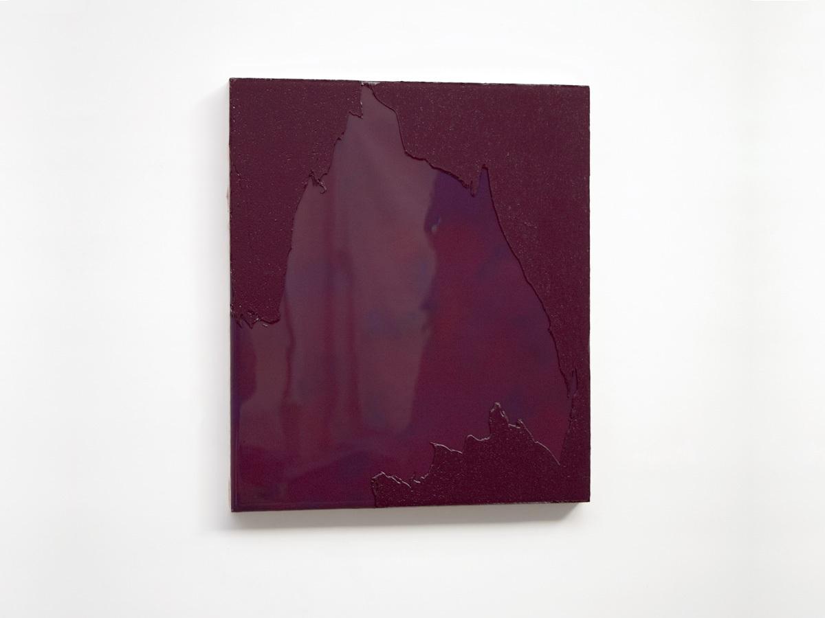 Raymund Kaiser, BRVIO-H3, 2016, Öl, Lack, MDF, 35 x 30 cm