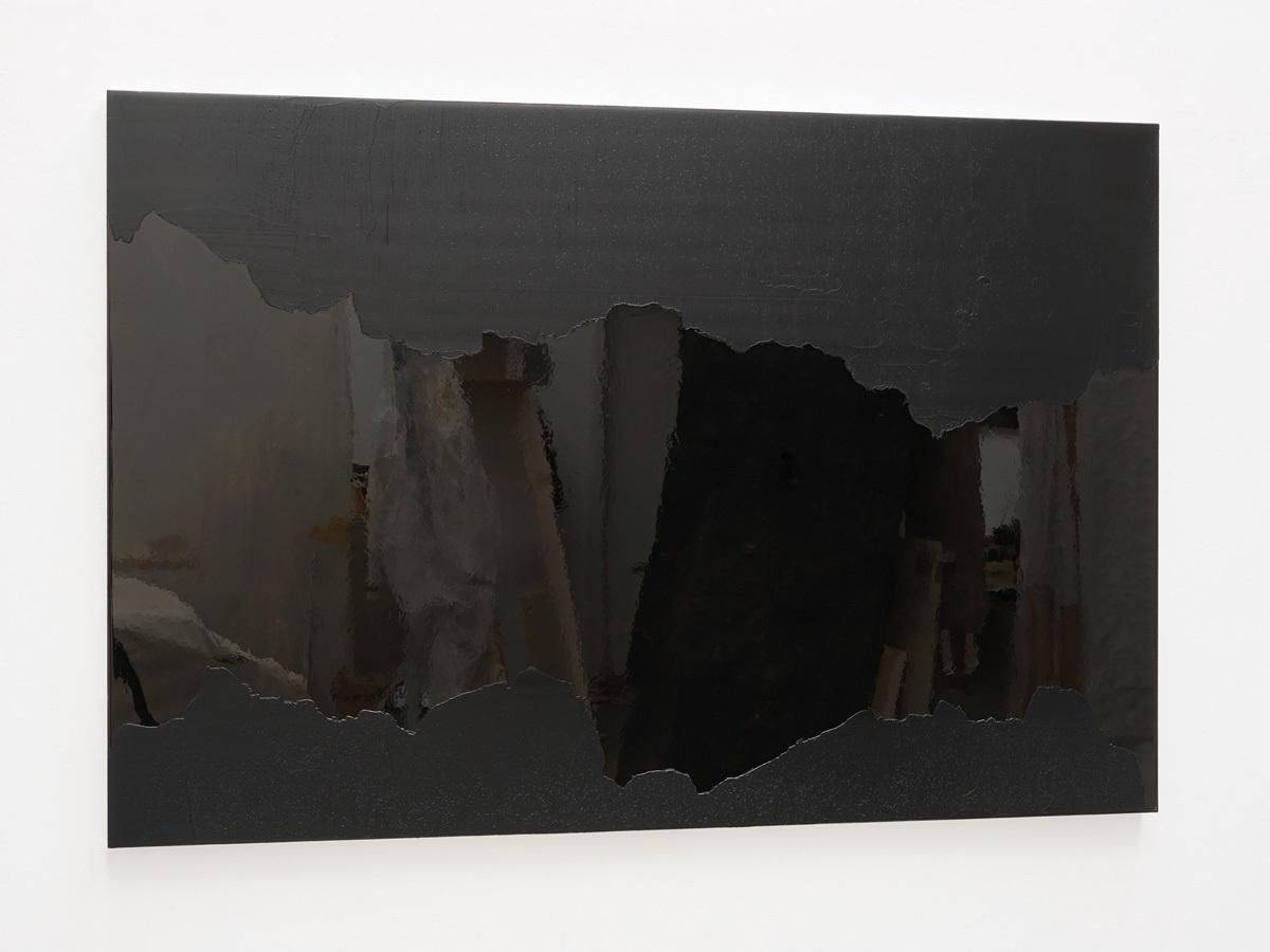 Raymund Kaiser, BRSCH-H3 (250617) 2017, Öl, Lack, MDF, 87 x 129 cm